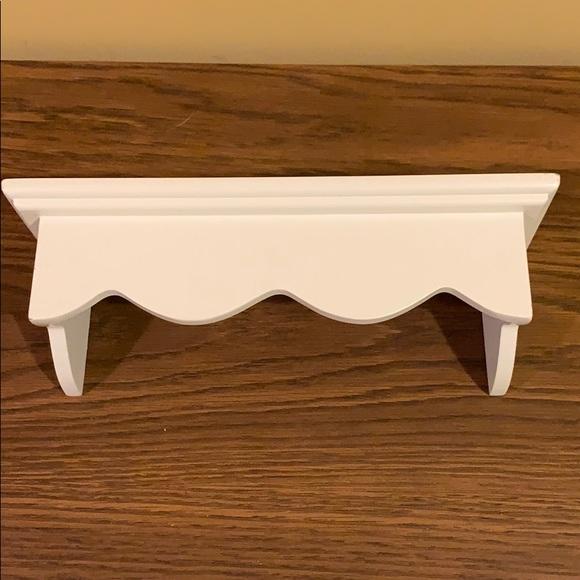 White Display Wall Shelf